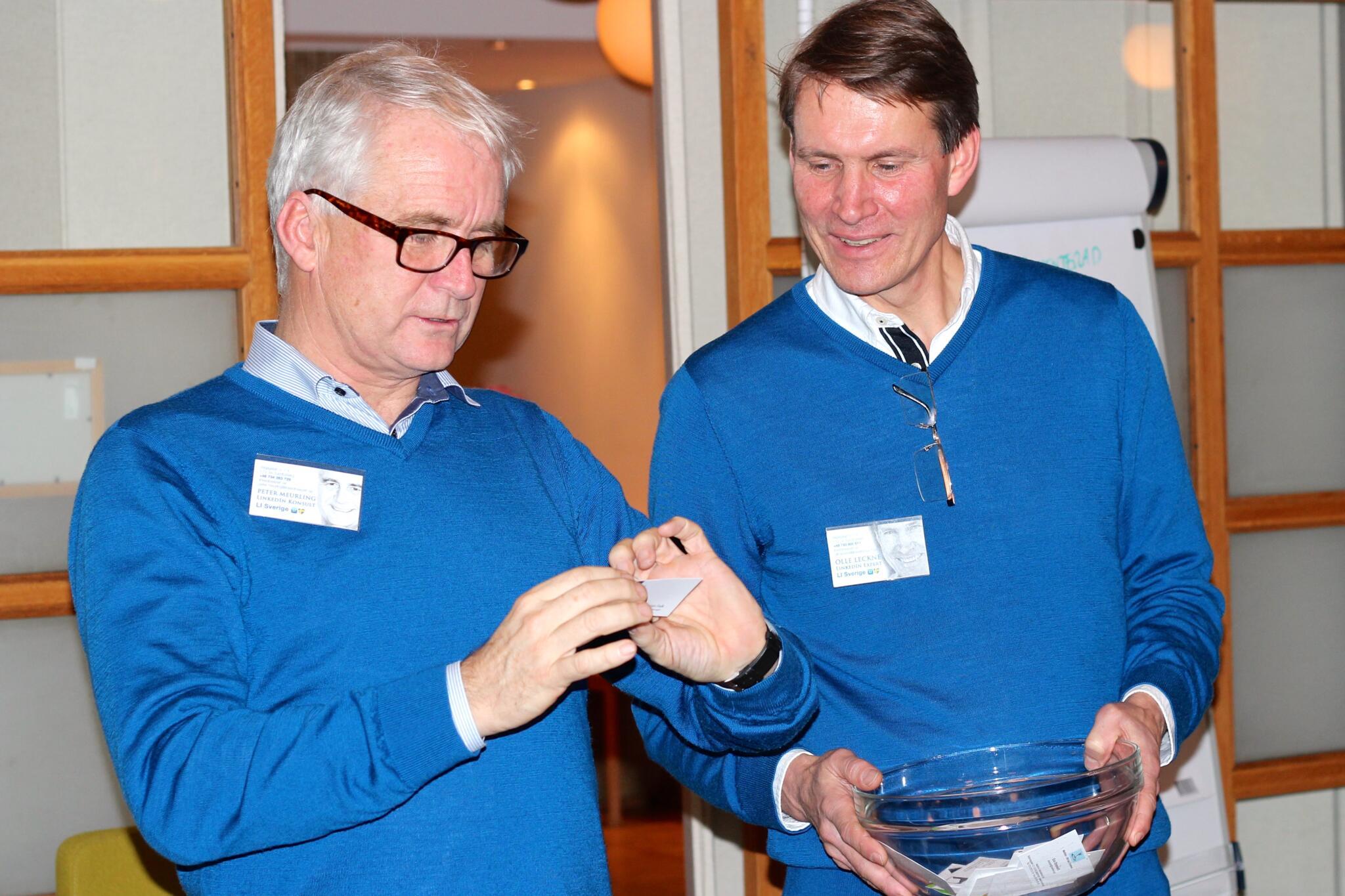 Peter Meurling och Olle Leckne