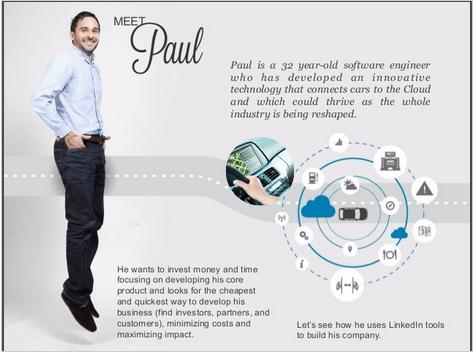 En start-up lyckas med LinkedIn