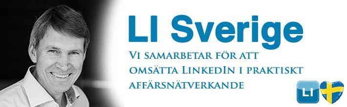 LI Sverige grupp på Linkedin