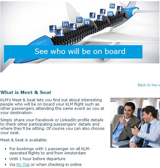 Meet & seat