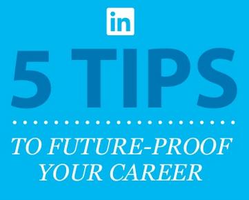 5 tips för att framtidssäkra din karriär infographic