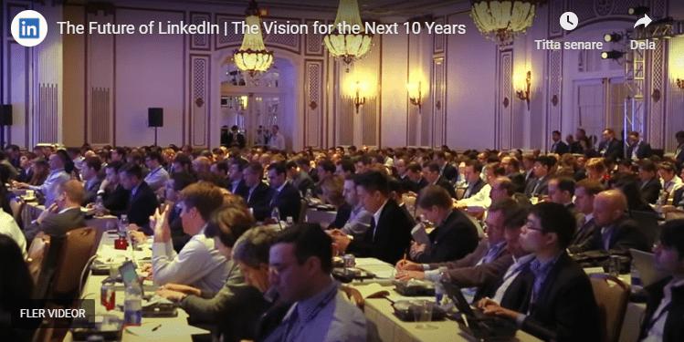 LinkedIns vision 10 år framåt