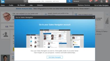 Lär dig använda LinkedIn Sales Navigator