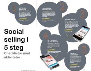 social selling med linkedin som säljverktyg