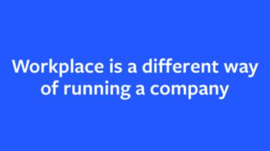Vad är workplace by Facebook