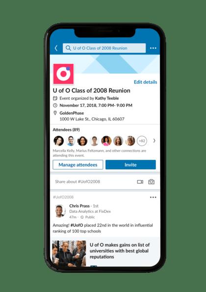 LinkedIn event och evenemang