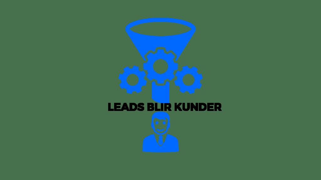 leads blir kunder